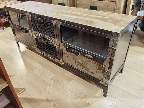 Mobile tv iron teak