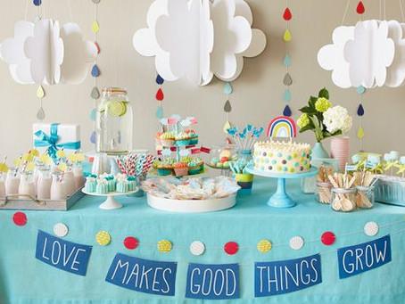 Ideias decoração de festa chuva de bençãos