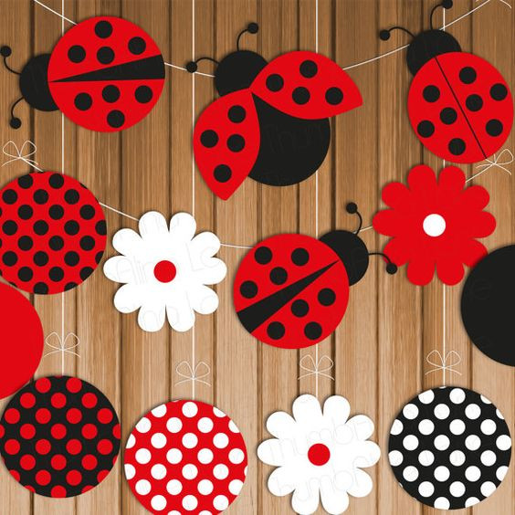ideias festa Lady Bug simples