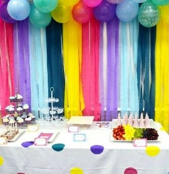 Ideias para você fazer o seu painel de festa sem gastar muito.