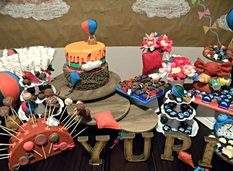 Festa em casa em 12 semanas - A Montagem e decoração da Festa.