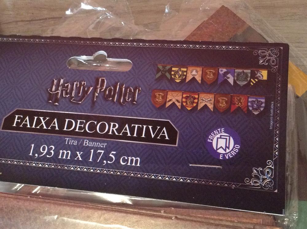 Faixa Harry Potter Festcolor