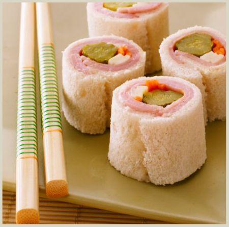 sushi lanche