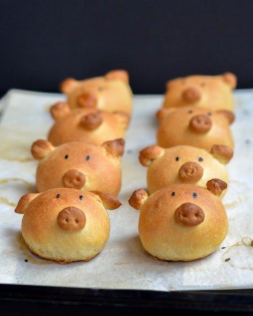 pãozinho porquinho