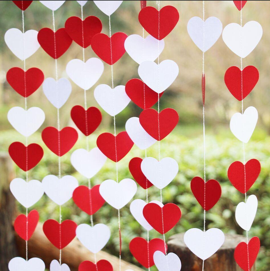 Cortina de corações