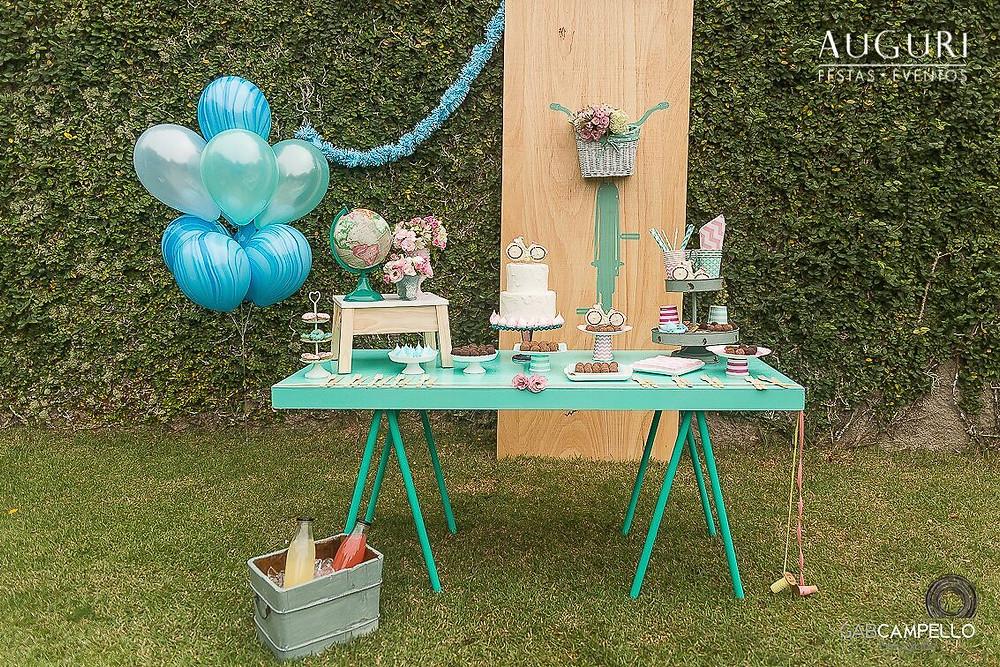 Mini mesa de festa