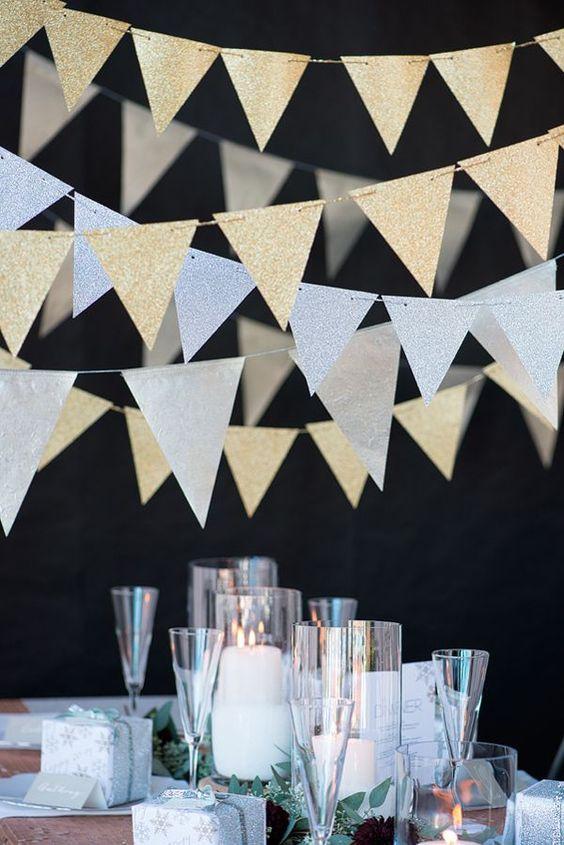 Bandeirinhas para casamento