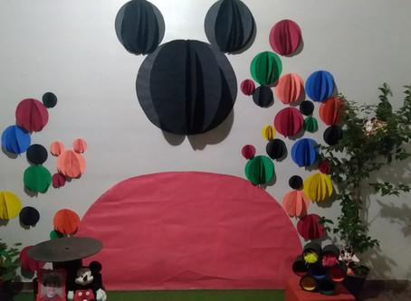 Inspiração FESTA MICKEY, uma festa mais sustentável!!!