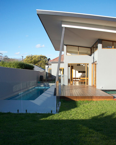 A modest 1940's austerity style home