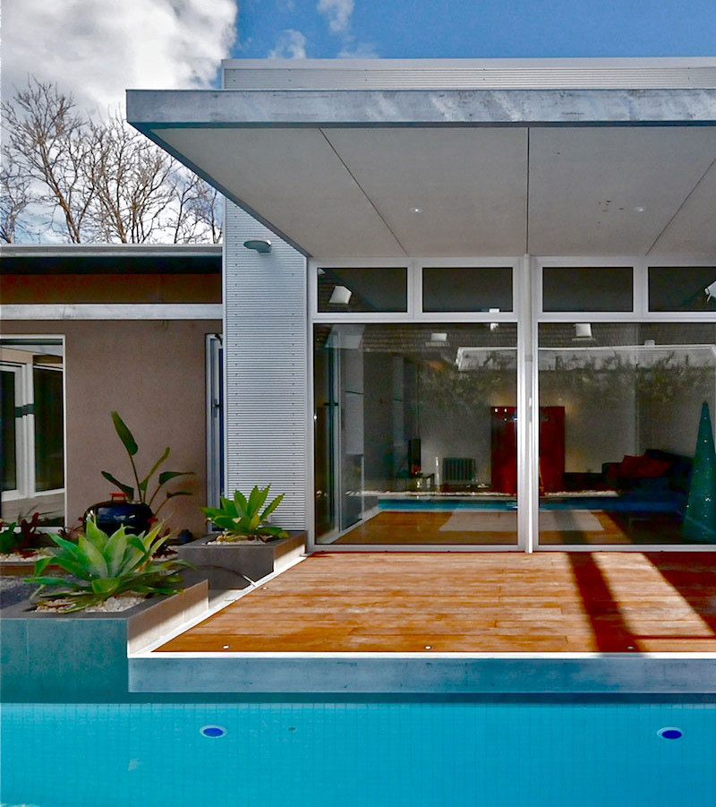 Sustainable principles in a minimalist style
