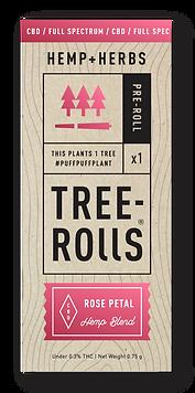 Tree-Rolls-CBD-Hemp-Prerolls-Joints-Rose