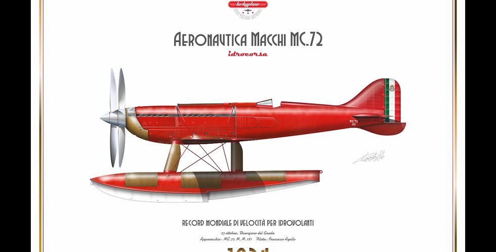 Macchi MC.72 Record Agello 1934