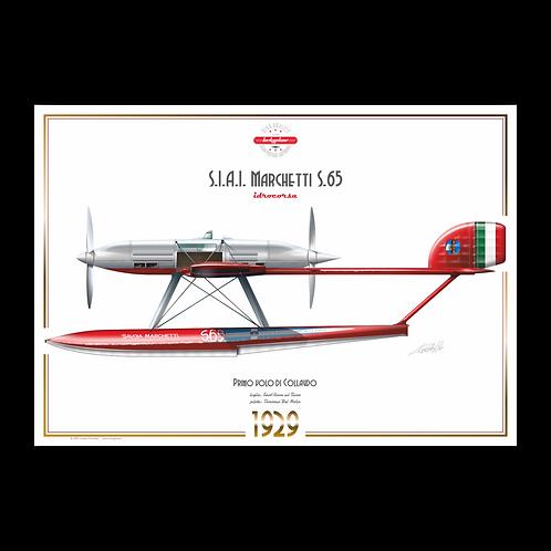 S.I.A.I. Marchetti S.65 Prototipo
