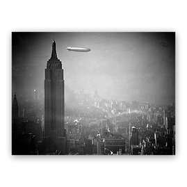 """Hindenburg"" over New York"