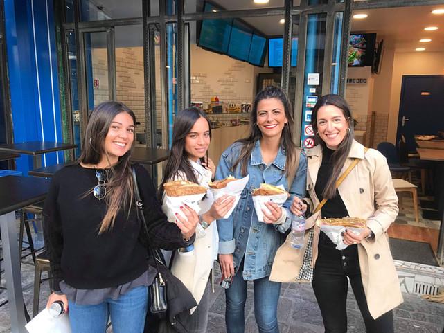 Nos clients contents à Au P'tit Crêpe Crêperie à Paris