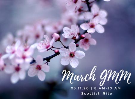 March GMM: Legislative Update with Senator Denyc Boles
