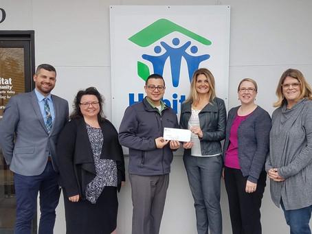 Grants to Habitat for Humanity & NEDCO 2018