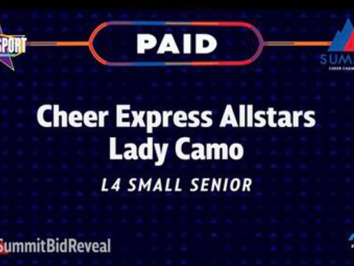 LADY CAMO AWARDED PAID SUMMIT BID