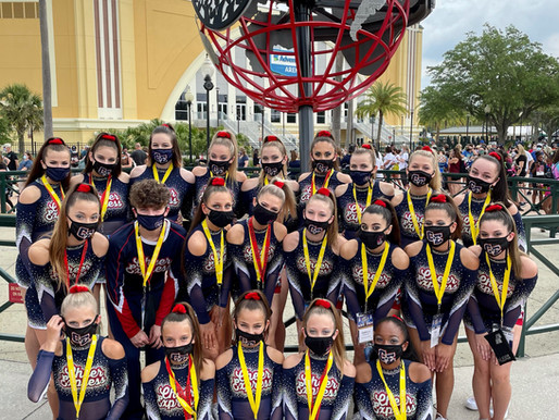 UCA NATIONALS CROWNED 3 CE CHAMPIONS