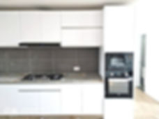 Kenya kitchen cabinet with Newmatic appliances
