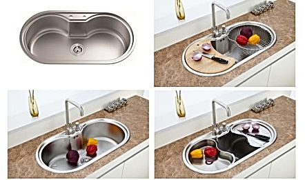 Newmatic appliance Spring 86 deep bowl sink variation