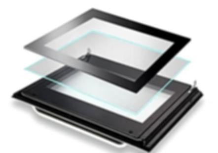 Newmatic oven triple glazed cool door