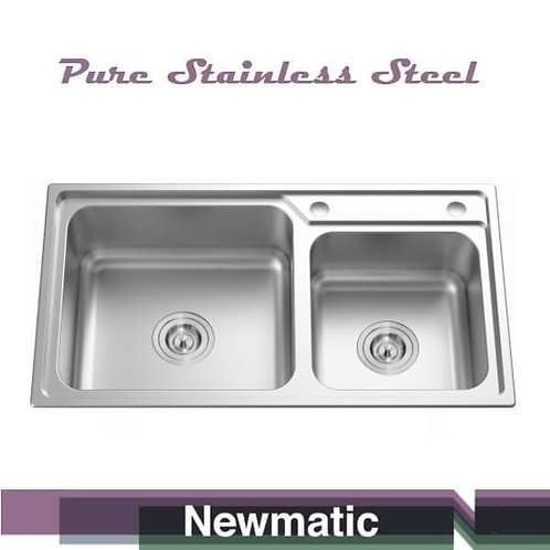 Double 82 Ultra Deep Bowl Kitchen Sink