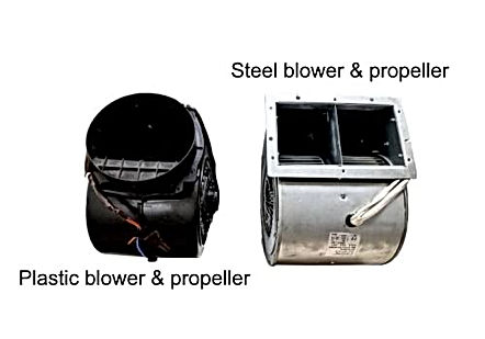 Newmatic chimney hood motor blowers