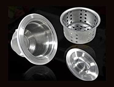 Newmatic kitchen sink drain & strainer