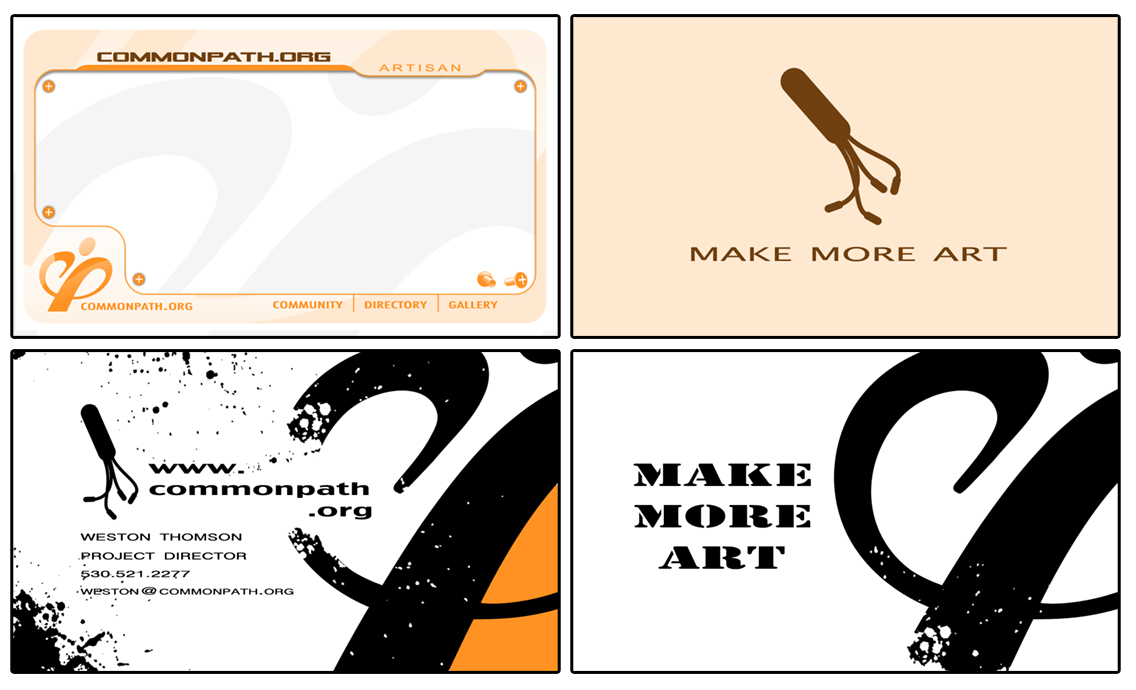 Common Path Business Cards