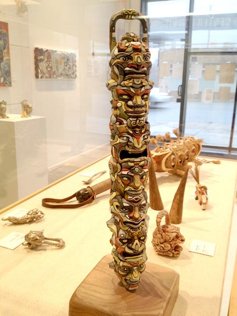 Totem: Plastic, Acrylic