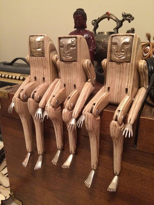 Small Wooden Figures