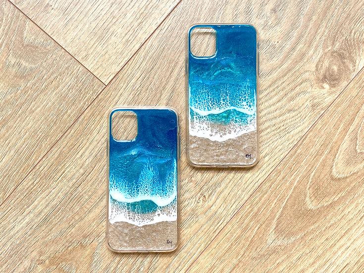 iPhone 11 - Beach Scene Phone Case