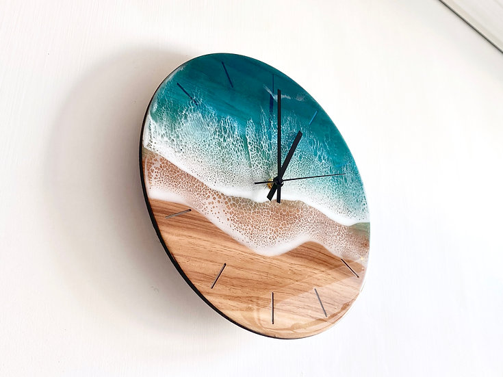 Wall Clock - Turquoise