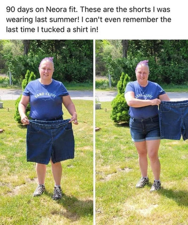 Reclaiming her health!