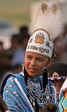 Blackfeet Indian boy