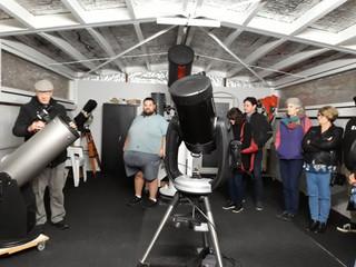 Visit to Whangarei Planetarium (10 July, 2021)