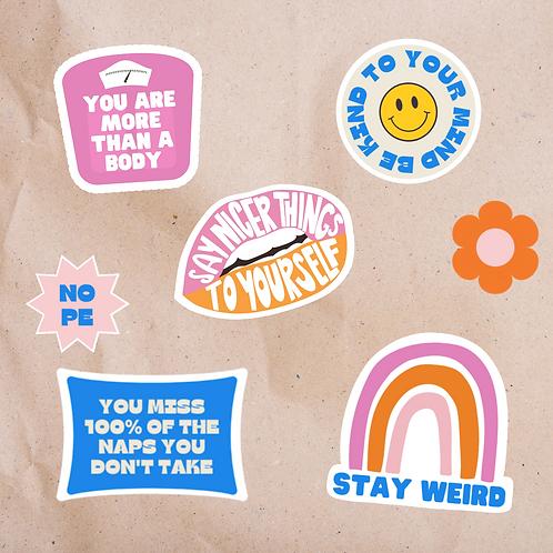 Self Love - Sticker Pack