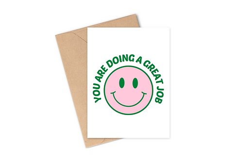 Great Job - Card