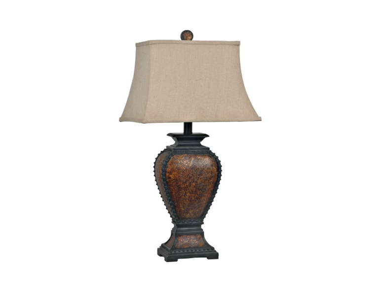 Crestview Lamps CVAUP522