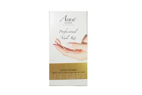 Professional Nail Kit Gold Charm