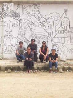 Kathmandu Wall Mural