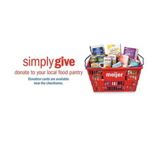 Meijer Simply Give Program - Double Match!