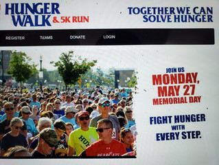 Hunger Walk and 5K Run!