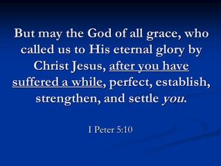 I Peter 5:10