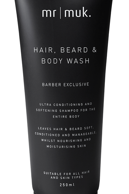 MR MUK HAIR, BEARD & BODY WASH 250ML