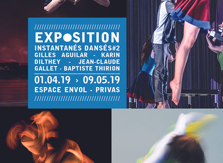 Instantanés dansés #2 – Exposition collective de photographies