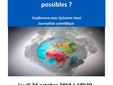 Conférence : Face au changement climatique, quelles politiques énergétiques possibles ?