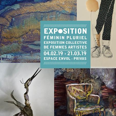 Féminin pluriel – Exposition collective de femmes artistes