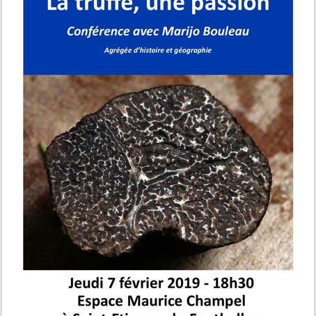 La truffe, une passion – Conférence du carrefour laïque d'Aubenas
